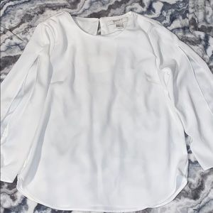 Beautiful Knotted Sleeve Blouse